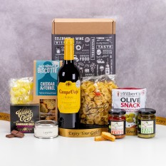 Hampers and Gifts to the UK - Send the Italian Night In Hamper