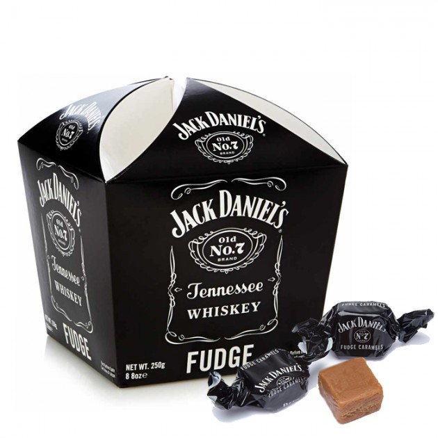 Hampers and Gifts to the UK - Send the * OUT OF STOCK * - Jack Daniels Whiskey Fudge