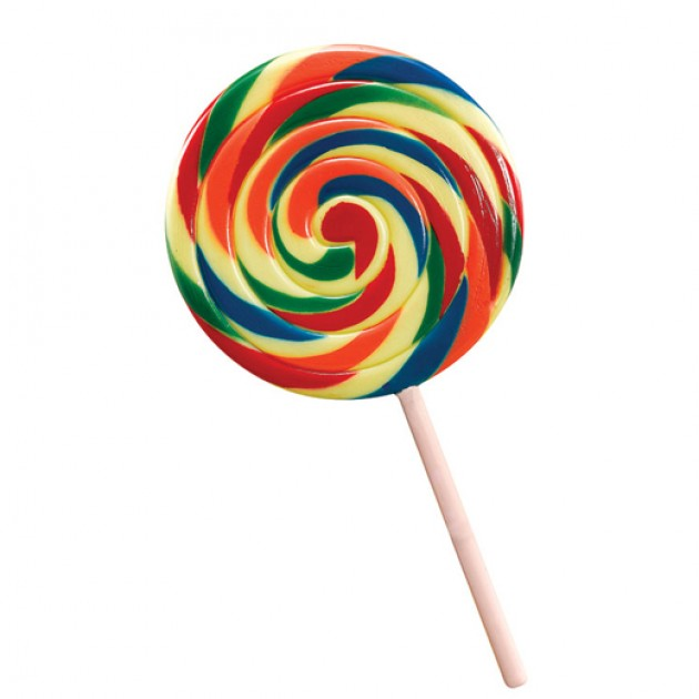 Hampers and Gifts to the UK - Send the Jumbo Rainbow Lollipop