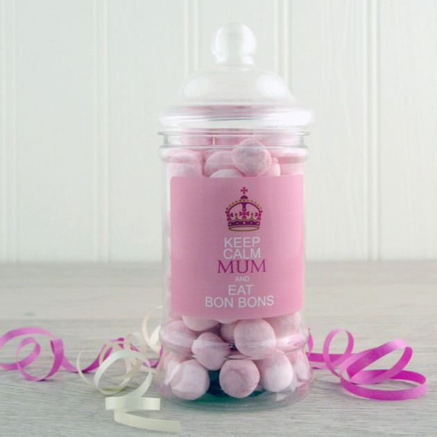 Hampers and Gifts to the UK - Send the Keep Calm MUM and Eat Bon Bons