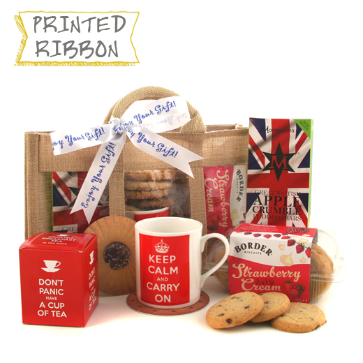 Hampers and Gifts to the UK - Send the Keep Calm and Drink Tea Gift Set