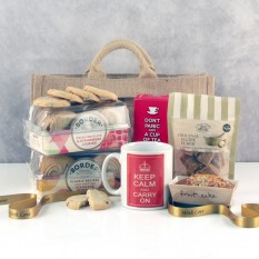 Hampers and Gifts to the UK - Send the Keep Calm and Drink Tea Hamper