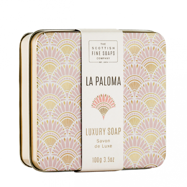 Hampers and Gifts to the UK - Send the La Paloma Luxury Soap Tin