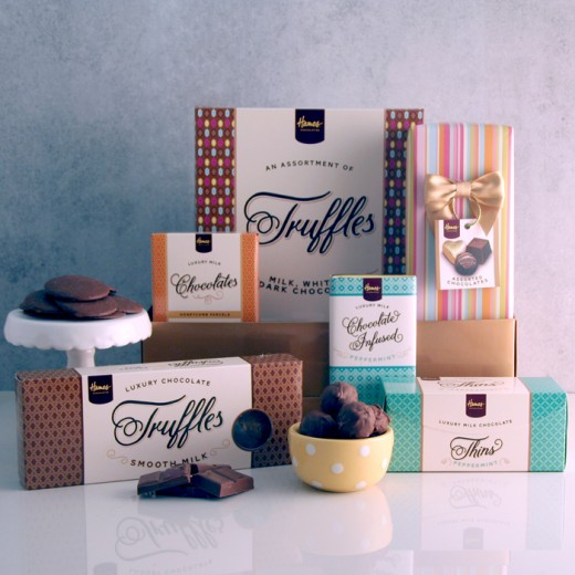 Hampers and Gifts to the UK - Send the Chocolate Hamper - Chocolate Extravaganza