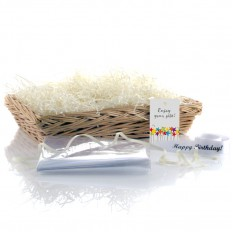 Hampers and Gifts to the UK - Send the Wicker Basket - Willow Large