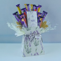 Hampers and Gifts to the UK - Send the Personalised Dairy Milk Purple Sensation