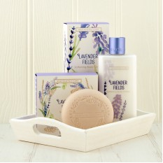 Hampers and Gifts to the UK - Send the Lavender Fields Pamper Set
