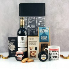Let There Be Cheese and Wine Gift Box