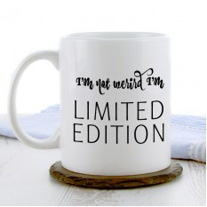 Hampers and Gifts to the UK - Send the I'm Not Weird I'm Limited Edition Mug