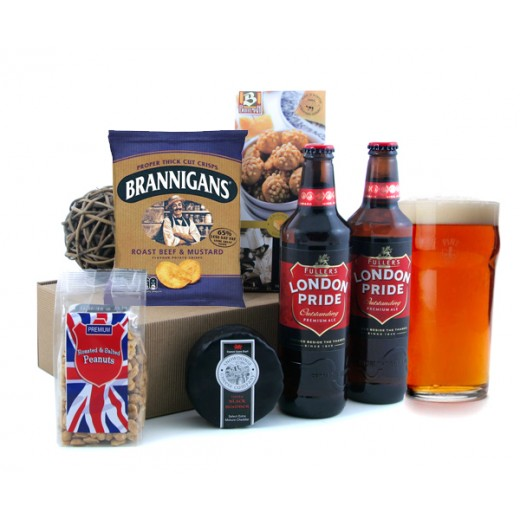 Hampers and Gifts to the UK - Send the The London Pride Beer Box