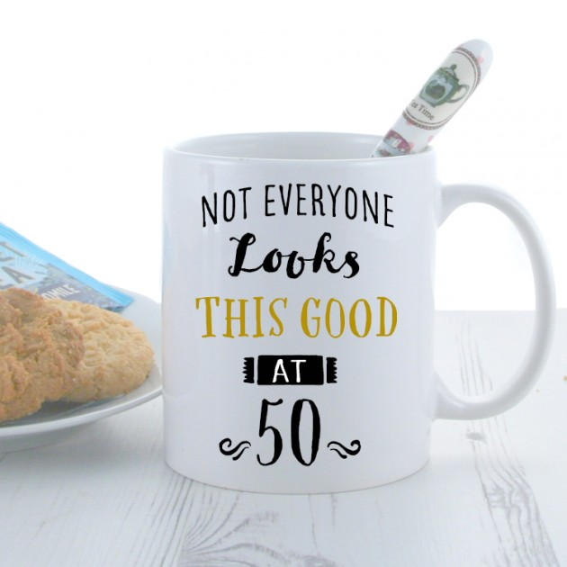 Hampers and Gifts to the UK - Send the Personalised Birthday 'Any Age' Mug