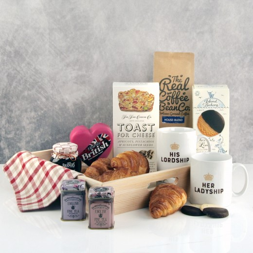Hampers and Gifts to the UK - Send the His Lordship & Ladyship Breakfast Hamper