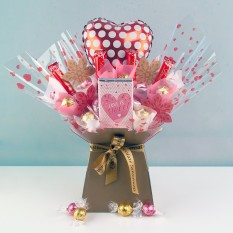 Hampers and Gifts to the UK - Send the Polka Dots and Sweetness Chocolate Bouquet