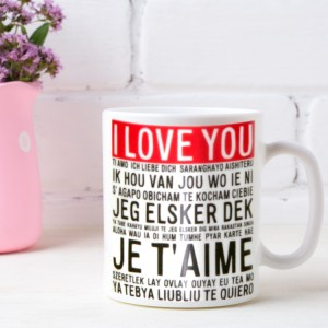 Hampers and Gifts to the UK - Send the Romantic Mugs