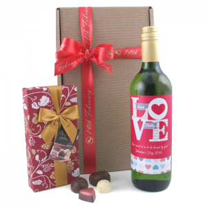 Hampers and Gifts to the UK - Send the Wine Gifts - Valentine's Day