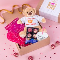 Love You Beary Much Teddy +£12.95