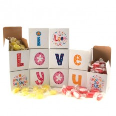 Hampers and Gifts to the UK - Send the I Love You Sweet Words