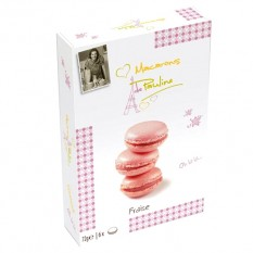 Hampers and Gifts to the UK - Send the Strawberry Macarons de Pauline
