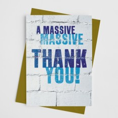 Hampers and Gifts to the UK - Send the A Massive Thank You Card