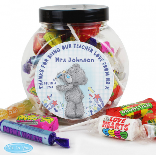 Hampers and Gifts to the UK - Send the Me To You Teacher Sweets Jar
