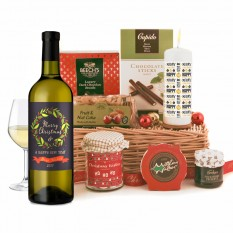 Hampers and Gifts to the UK - Send the Holly Jolly Christmas Gift Basket