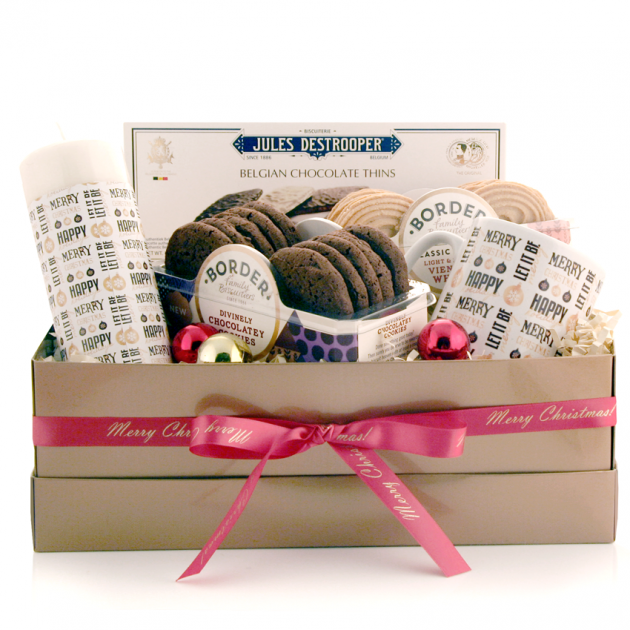 Hampers and Gifts to the UK - Send the Let It Be Merry and Bright Christmas Gift Box