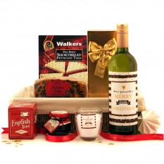 Hampers and Gifts to the UK - Send the A Merry Little Christmas Hamper