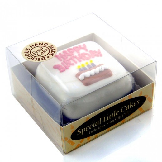 Hampers and Gifts to the UK - Send the * OUT OF STOCK * - Mini Iced Birthday Cake