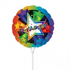 Hampers and Gifts to the UK - Send the Congratulations Mini Balloon