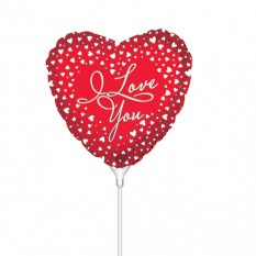 Hampers and Gifts to the UK - Send the I Love You Mini Balloon