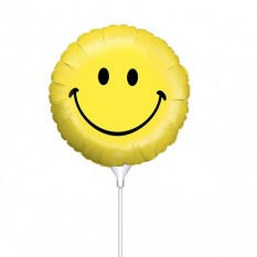 Hampers and Gifts to the UK - Send the Smiley Face Mini Balloon