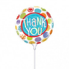 Hampers and Gifts to the UK - Send the Thank You Mini Balloon