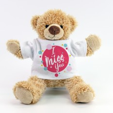 Hampers and Gifts to the UK - Send the I Miss You Teddy Bear