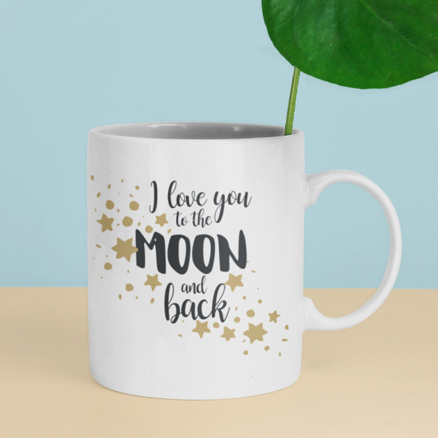 Hampers and Gifts to the UK - Send the Love You to the Moon & Back Mug