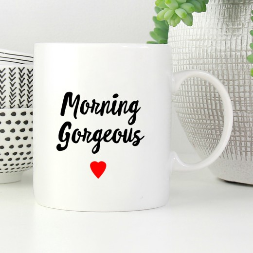 Hampers and Gifts to the UK - Send the Morning Gorgeous Mug