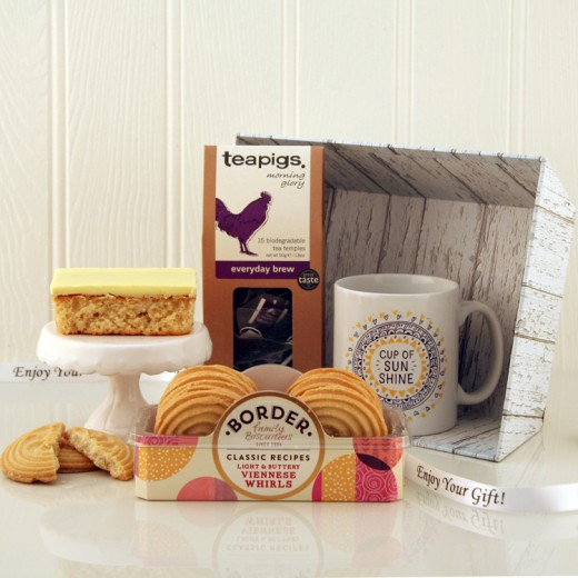 Hampers and Gifts to the UK - Send the Morning Glory Cup of Sunshine