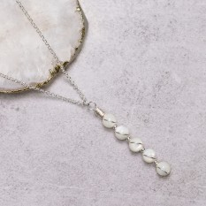 Hampers and Gifts to the UK - Send the Mother of Pearl Serenity Necklace