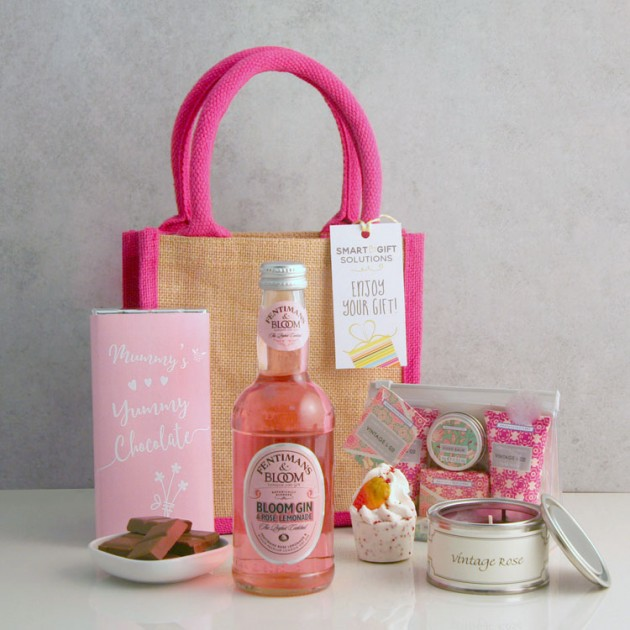 Hampers and Gifts to the UK - Send the Mummy's Yummy Pamper Hamper