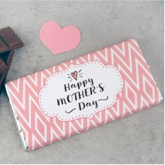 Hampers and Gifts to the UK - Send the Happy Mother's Day Chocolate Bar