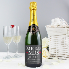 Hampers and Gifts to the UK - Send the Mr and Mrs Champagne