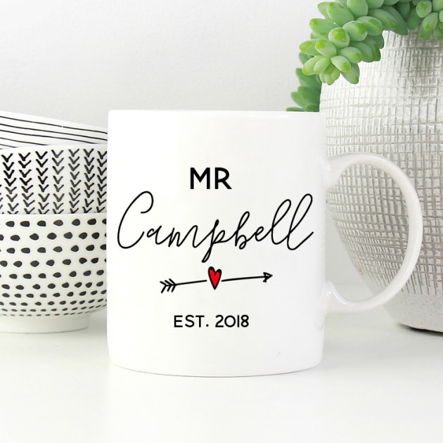 Hampers and Gifts to the UK - Send the Personalised Mug - Mr
