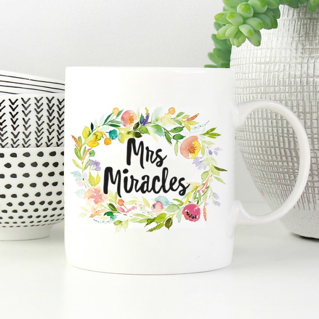 Hampers and Gifts to the UK - Send the Mrs Miracles Mug