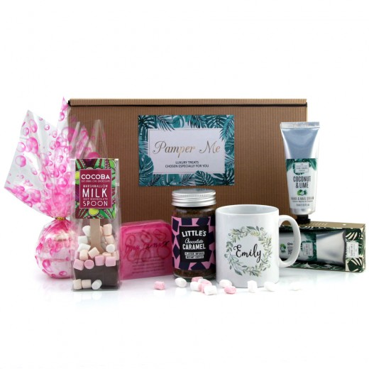 Hampers and Gifts to the UK - Send the Pamper Me Relax and Chill Hamper