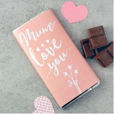 Hampers and Gifts to the UK - Send the Mum Love You Chocolate Bar