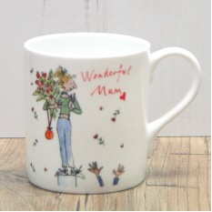 Hampers and Gifts to the UK - Send the Wonderful Mum Gift Mug