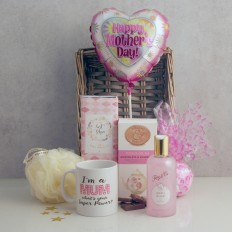 Hampers and Gifts to the UK - Send the Mum's Superpowers Mothers Day Gift Basket