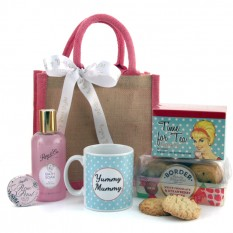 Hampers and Gifts to the UK - Send the Yummy Mummy's Pamper Hamper