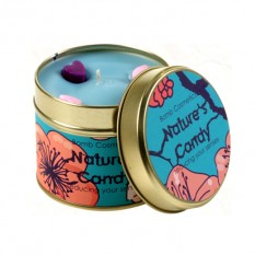 Hampers and Gifts to the UK - Send the Bomb Cosmetics Candle - Nature's Candy