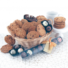 Hampers and Gifts to the UK - Send the Naughty But Nice Cookies and Chocolates