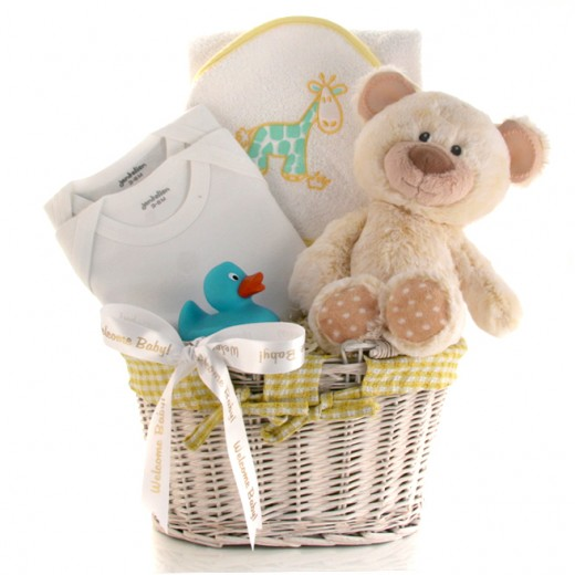 Hampers and Gifts to the UK - Send the Welcome Baby Gift Basket